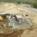 Excavation construction neuve