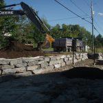 Terrassement/mur de roche